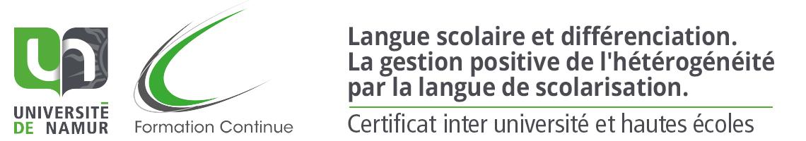 Gestion positive de l'hétérogénéité par la langue de scolarisation