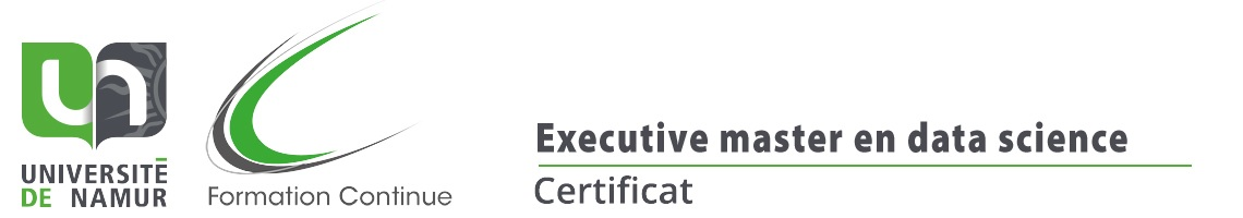 Certificat d'Executive Master en Data science