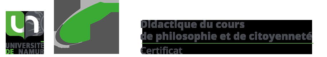 Certificat en didactique philo et citoyenneté
